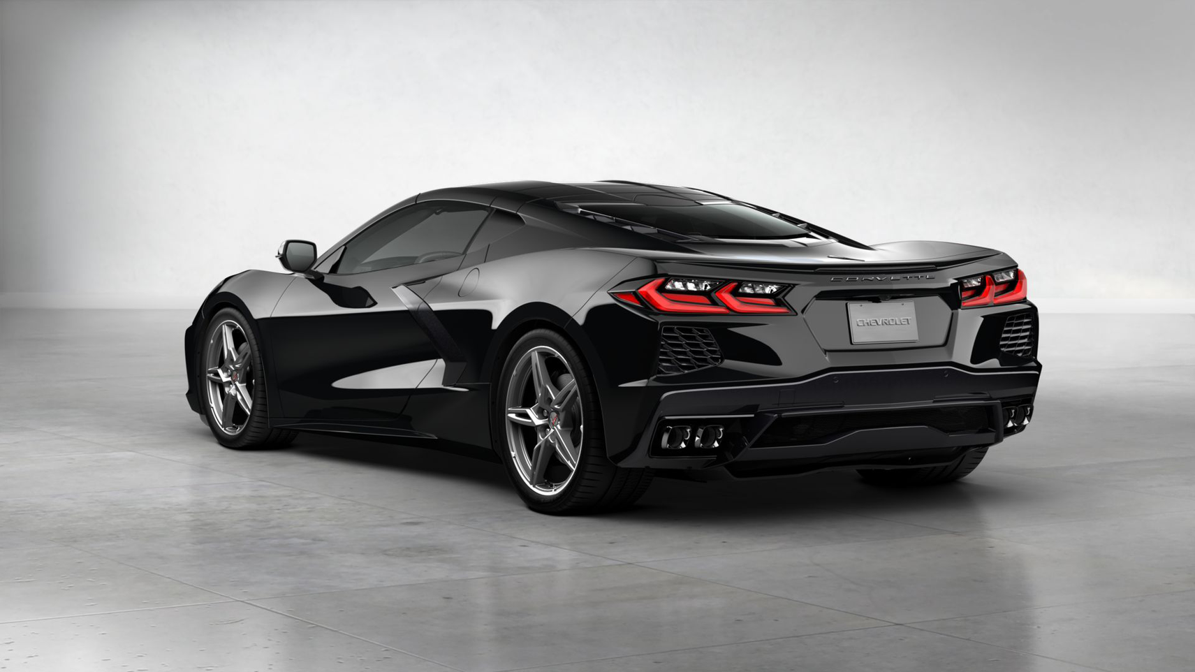 Chevrolet Corvette Stingray 2020 1LT Coupe 6.2 V8 DI VVT Бензин 8 ст АКПП Задний