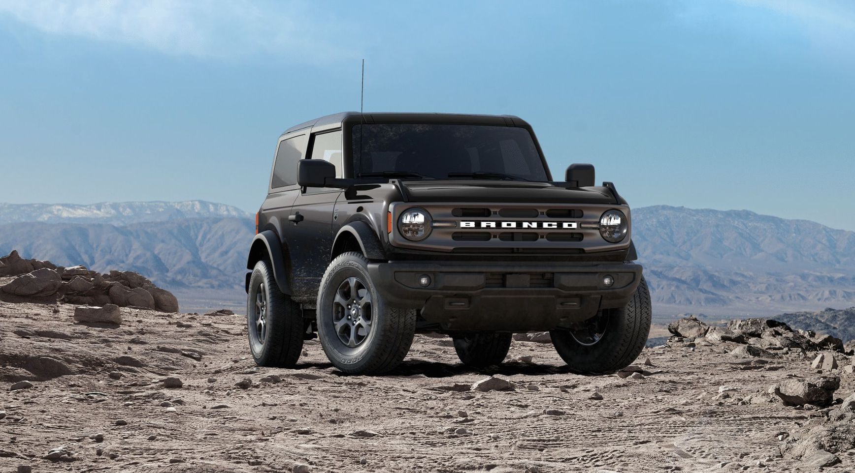 Ford Bronco 2021 Big Bend™ (двухдверная кабина)
