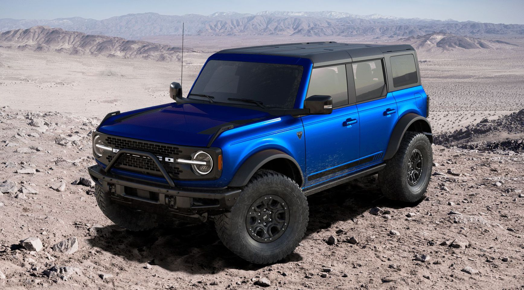 Ford Bronco 2021 First Edition