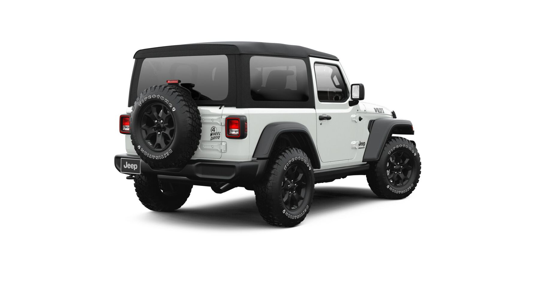 Jeep Wrangler 2021 Willys (двухдверная кабина)