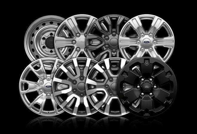 Ford Ranger 2020 Восемь различных моделей колёсных дисков. Авто Премиум Груп