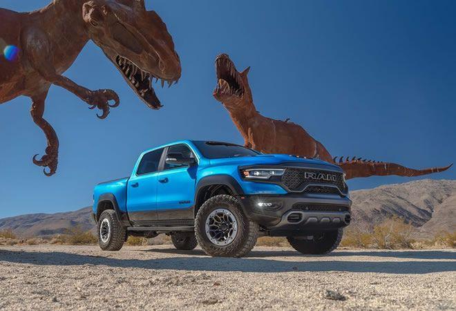 2021 RAM 1500 TRX признан пикапом года «Truck of the Year» издательством MotorTrend!
