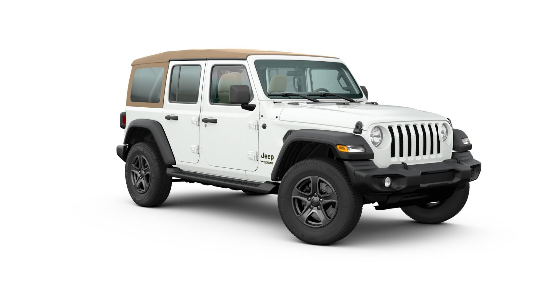 Jeep Wrangler 2020 Black and Tan