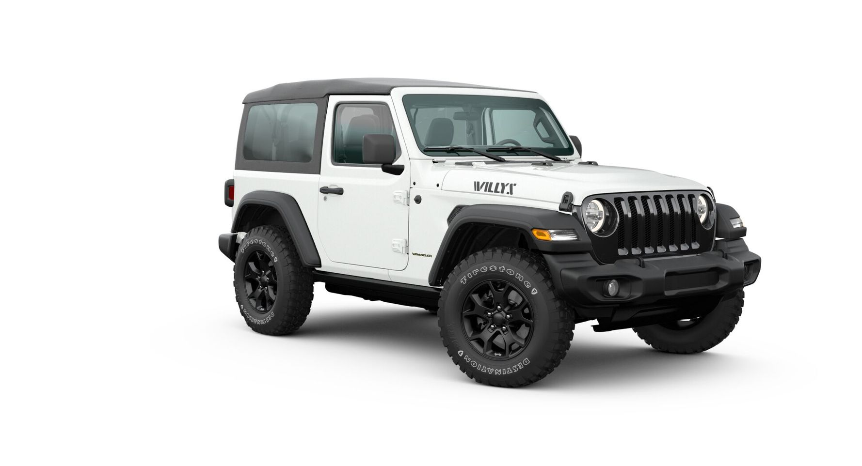 Jeep Wrangler 2020 Willys (двухдверная кабина)