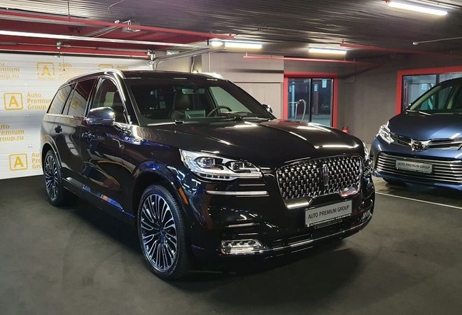 Lincoln Aviator 2020 Black Label